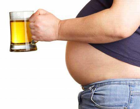 Правда что от пива растет живот