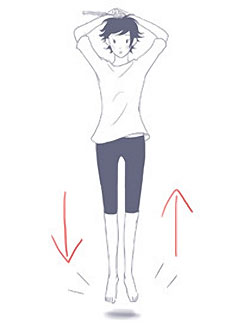 Jump exercise for osteoporosis