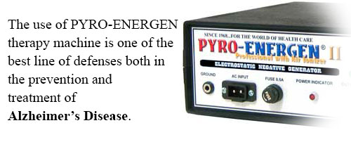 PYRO-ENERGEN for Alzheimer's disease treatment